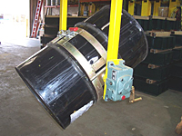 Below Hook Drum Dumpers